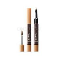 Eco soul brow pencil & mascara 01 light brown [Тушь- карандаш для бровей]
