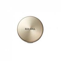 Eco soul luxury gold pact 23 natural beige [Пудра компактная золотая 23 тон]