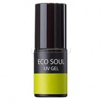 Eco soul nail collection uv gel gr01 fresh lime [ель-лак для ногтей]