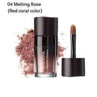 Eco soul pigment shadow 04 melting rose [Тени для век жемчужные 04]