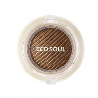 Eco soul swag jelly shadow 1 get some coffee [Тени гелевые для век]