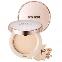 Eco soul uv sun pact 21 light beige [Пудра санскрин 21]