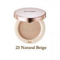 Eco soul uv sun pact 23 natural beige [Пудра санскрин 23]
