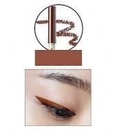 Eco soul waterproof gel eyeliner 18 bronze brown [Водостойкий гелевый карандаш для глаз]