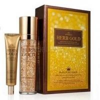Estheroce herb gold whitening & wrinkle care essence & eye cream special set [Набор уходовый антивозрастной]