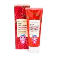 Fashiony fruit foam cleanser - strawberry [Пенка для умывания клубника]