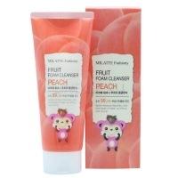 Fashiony fruit foam cleanser - peach [Пенка для умывания персик]