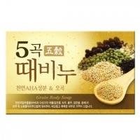 Five grains scrub soap [Мыло-скраб пять злаков]