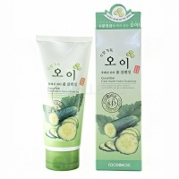 Foodaholic cucumber fresh water foam cleansing [Очищающая пенка для умывания с натуральным экстрактом огурца]