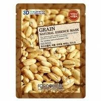 Foodaholic grain natural essence 3d mask [Тканевая 3D маска с натуральным экстрактом зерновых культур]