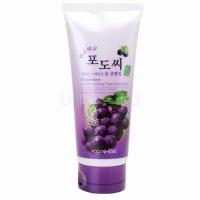 Foodaholic grapestone keratin scaling foam cleansing [Очищающая пенка для умывания с натуральным экстрактом виноградных косточек