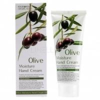 Foodaholic olive moisture hand cream [Увлажняющий крем для рук с натуральным экстрактом оливы]