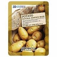 Foodaholic potato natural essence 3d mask [Тканевая 3D маска с экстрактом картофеля]