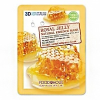 Foodaholic royal jelly essence 3d mask [	Тканевая 3D маска с натуральным экстрактом пчелиного маточного молочка]