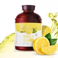 Fruit vinegar sheet mask (lemon) [Маска для лица тканевая ]