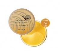 Gold snail eye gel patch set [Набор патчей с экстрактом муцина улитки для век]