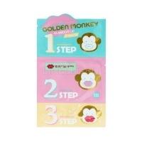 Golden monkey glamour lip 3-step kit [Набор средств для ухода за губами]