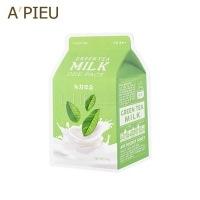 Green tea milk one-pack [Маска с экстрактом зеленого чая и гамамелиса]