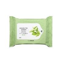 Healing tea garden green tea cleansing tissue [ Косметические салфетки с зеленым чаем]