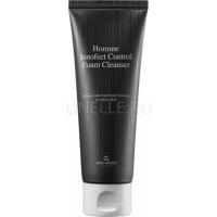 Homme innofect control foam cleanser [Глубокоочищающая пенка для мужской кожи]