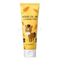 Horse oil 100 cleansing foam [Пенка для умывания]