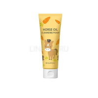 Horse oil cleansing foam [Пенка для умывания]