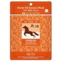 Horse oil essence mask [Маска тканевая конский жир]