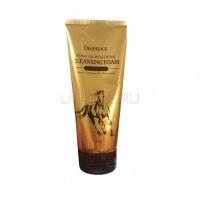 Horse oil hyalurone cleansing foam [Пенка для умывания с гиалуроновой кислотой и лошадиным жиром]