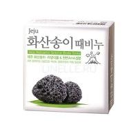 Jeju volcanic scoria body soap [Мыло с вулканическим пеплом]