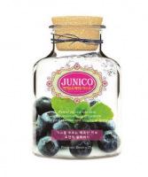 Junico Blueberry Essence Mask 25g [Маска тканевая c экстрактом черники]