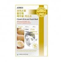 Junico crystal all-in-one facial mask argan [Маска тканевая c аргановым маслом]