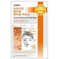 Junico crystal all-in-one facial mask hyaluronic acid [Маска тканевая c гиалуроновой кислотой]