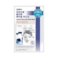 Junico crystal all-in-one facial mask collagen  [Маска тканевая c коллагеном]