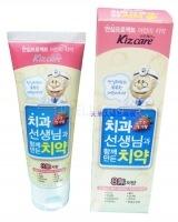 Kizcare 8-none toothpaste (strawberry) [Детская зубная паста (клубничная)]