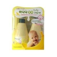 Kwailnara banana milk baby special set [Набор детский Шампунь + Лосьон банановый]