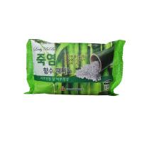 Bamboo salts perfumed peeling soap [Мыло с отшелушивающим эффектом парфюмированное с бамбуковой солью]