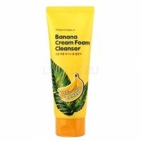 Magic food banana cream foam cleanser [Крем-пенка для умывания банановая]