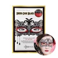 Mask dress code black [Маска тканевая для лица]