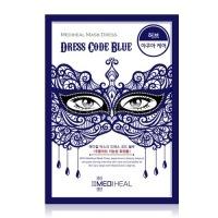 Mask dress code blue [Маска тканевая для лица]