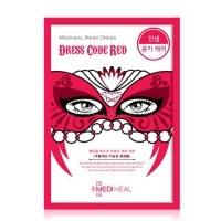 Mask dress code red [Маска тканевая для лица]