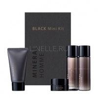 Mineral homme black mini kit [Набор миниатюр мужской увлажняющий]