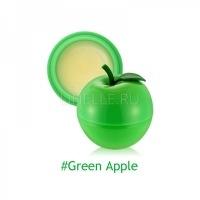 Mini green apple lip balm 2 [Бальзам для губ яблоко]