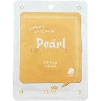 Mj on pearl mask pack [Маска тканевая с жемчугом]