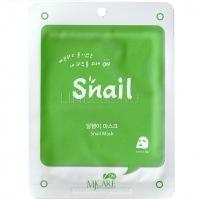 Mj on snail mask pack  [Маска тканевая улиточная]