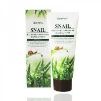 Moisture hand & foot snail recovery [Крем для ног и рук с муцином улитки ]