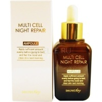 Multi cell night repair ampoule [Сыворотка для лица ночная восстанавливающая]