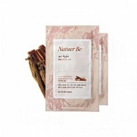 Natuer be 36.5 fermentation red ginseng mask sheet [Ферментированная тканевая маска для лица с красным женьшенем]