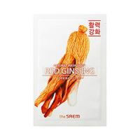 Natural REd Ginseng Mask Sheet 21ml [Маска тканевая с экстрактом женьшеня]