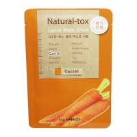 Natural – tox carrot mask sheet [Маска-детокс тканевая морковная]