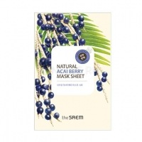 Natural acai berry mask sheet [Маска тканевая с экстрактом ягод асаи]